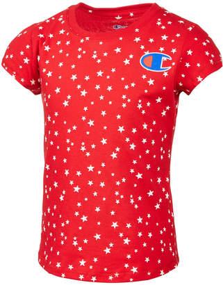 Champion Star-Print T-Shirt, Toddler Girls