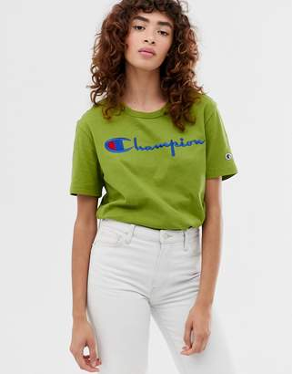 Champion reverse weave relaxed t-shirt with front script logo