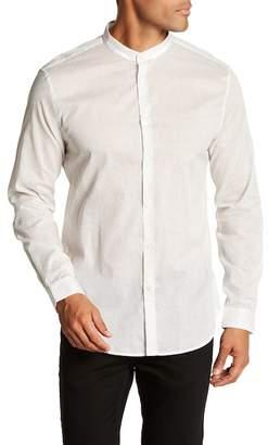 John Varvatos Collection Cross Long Sleeve Slim Fit Shirt