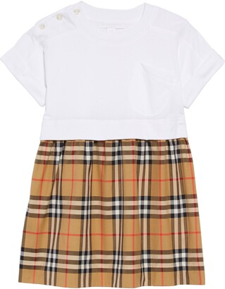 Burberry Vintage Check Popover Dress