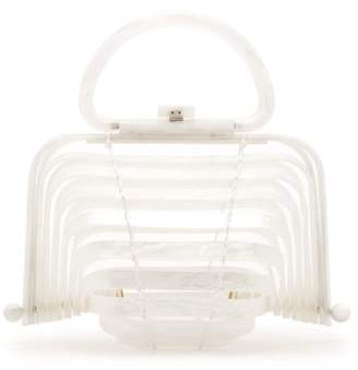 Cult Gaia Lilleth Clutch Bag - Womens - White