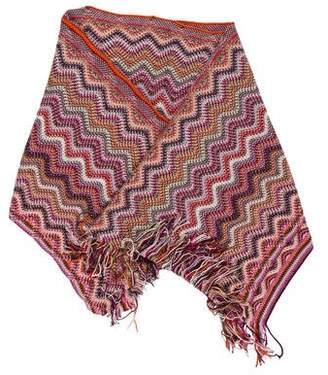 Missoni Chevron Wool-Blend Shawl