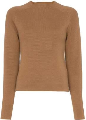 Carcel Milano crew neck alpaca wool jumper