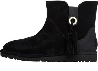 UGG Womens Gib Angle Boots Black