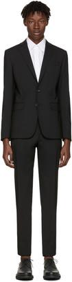 Dsquared2 Black Wool Paris Suit $1,485 thestylecure.com