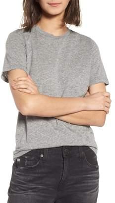 AG Jeans Gray Boyfriend Tee