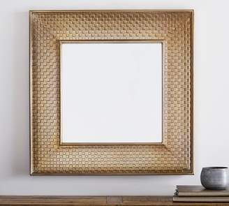 Pottery Barn Audrey Gold Mirror