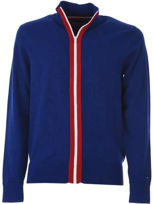 Tommy Hilfiger Stripe Zip Jumper