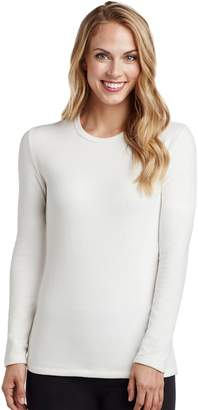 Cuddl Duds Women's Fleecewear Crewneck Top