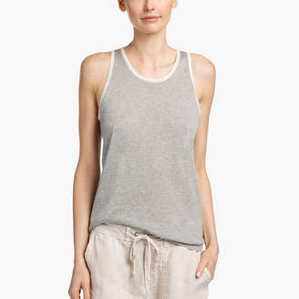 James Perse ORGANIC COTTON CASHMERE TANK