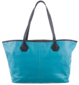 Jonathan Adler Small Leather Tote