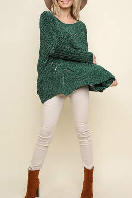 Umgee USA Fireside Chenille Sweater