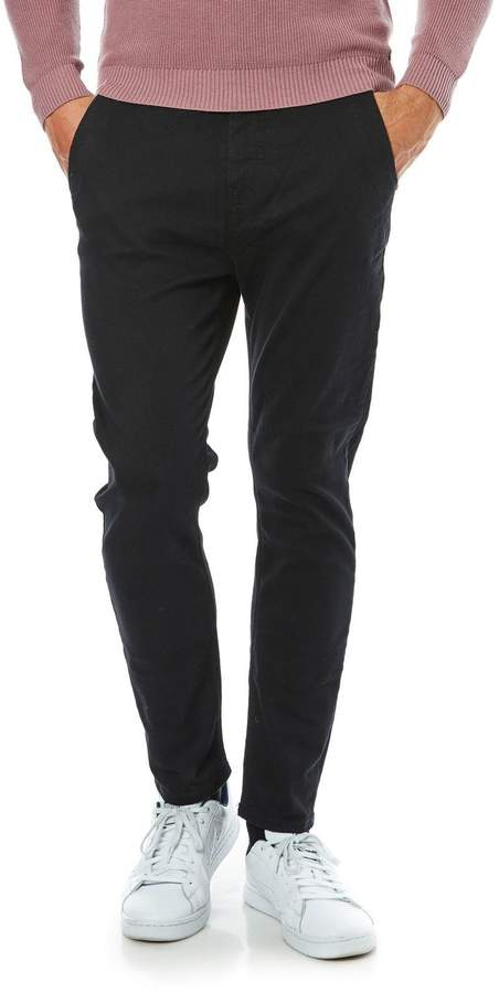 Jeans mit Slimcut - grau
