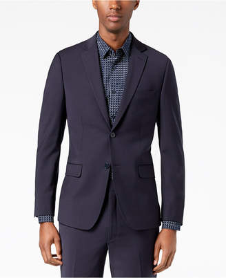 Calvin Klein Men's Skinny Fit Infinite Stretch Navy Suit Jacket
