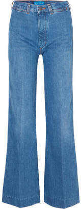 MiH Jeans Bay Garnett Bay High-rise Wide-leg Jeans - Mid denim