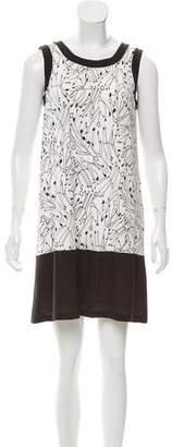 Fendi A-Line Knit Mini Dress