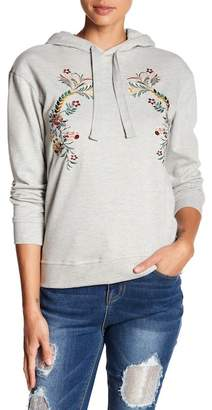 Romeo & Juliet Couture Embroidered Sweatshirt Hoodie