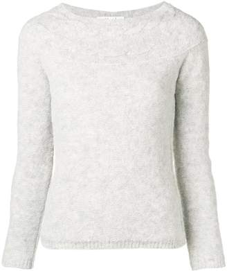 Blugirl long-sleeve fitted sweater