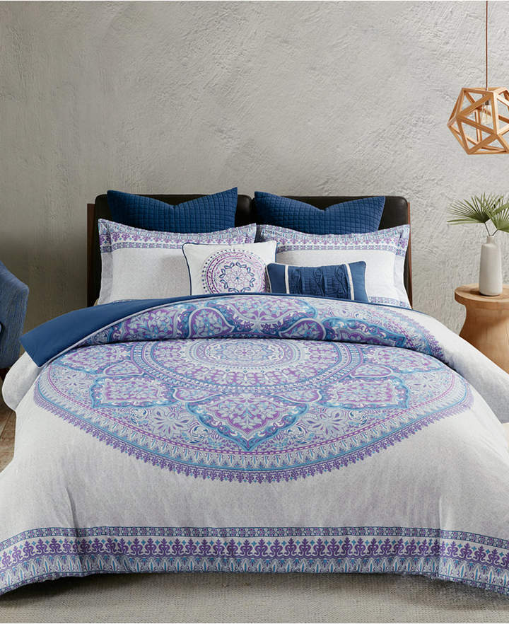 Urban Habitat Coletta Cotton 7-Pc. King/California King Duvet Cover Set Bedding