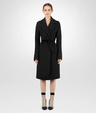 Bottega Veneta Nero Double Cashmere Coat