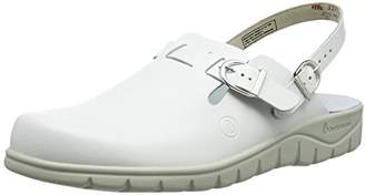 Berkemann Unisex Adults' Pasadena Clogs, White (weiß 100)