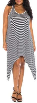 SLINK Jeans Stripe Tank Dress