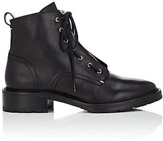 Rag & Bone Women's Cannon Leather Ankle Boots - Black