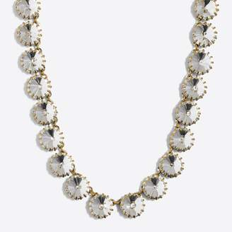 J.Crew Brass-plated crystal necklace