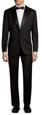 Saks Fifth Avenue Trim-Fit Tuxedo Suit