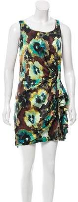 Cynthia Steffe Printed Silk-Blend Dress