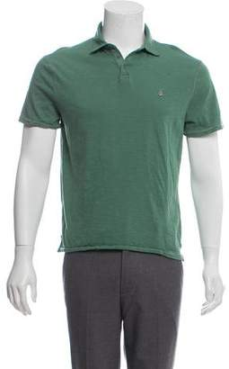 John Varvatos Knit Short Sleeve Polo
