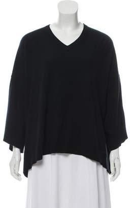 Michael Kors Silk Blend V-Neck Sweater