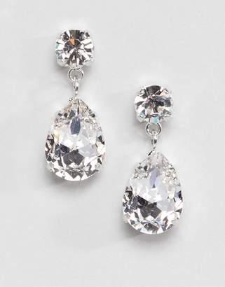 Swarovski Krystal London crystal drop earrings in clear