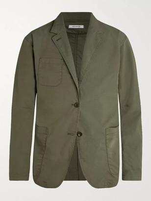 Nonnative Army-Green Scientist Cotton-Blend Ripstop Blazer