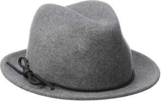 Karen Kane Women's Snapback Felt Fedora Hat