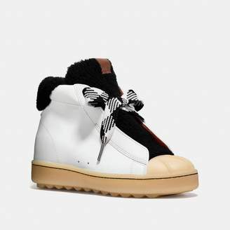 Coach High Top Hiker With Shearling