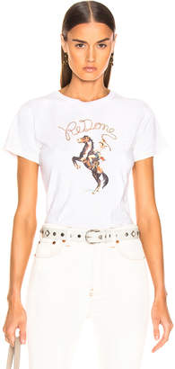 RE/DONE Classic Tee Cowgirl