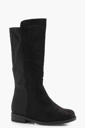 boohoo Girls Knee High Boot