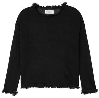 16b768f08456 Black Linen Jumper - ShopStyle UK