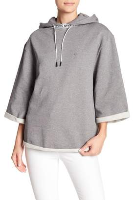 Opening Ceremony Banded Oversized Hoodie