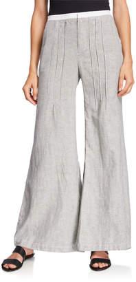 XCVI Ebba Striped Wide-Leg Pants