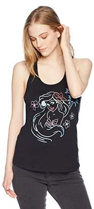 Disney Women's Digital Wave Graphic Junior's Racerback Tank Tops