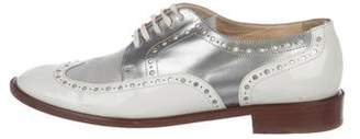 Robert Clergerie Leather Brogue Oxfords