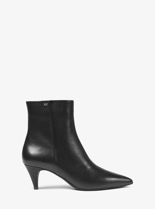 MICHAEL Michael Kors Blaine Flex Leather Ankle Boot