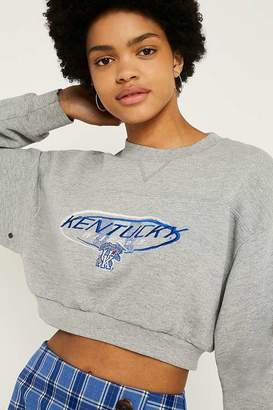 Urban Renewal Vintage Customised USA Crop Sweatshirt