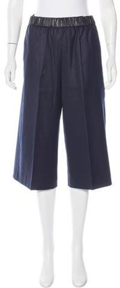 Sandro Tailored Culotte Pants $75 thestylecure.com