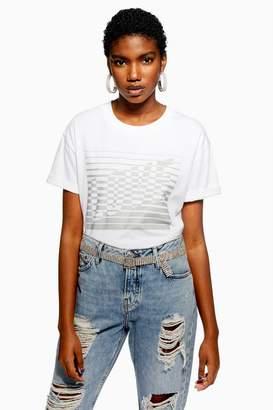 Topshop Love Reflective T-Shirt
