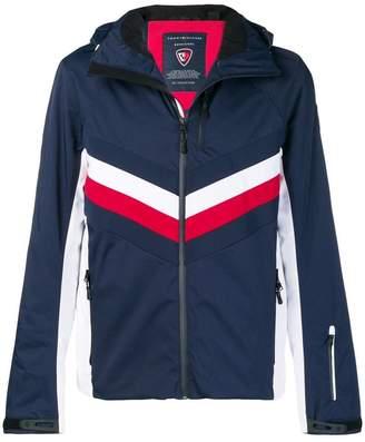 Rossignol x Tommy Hilfiger hooded panelled jacket