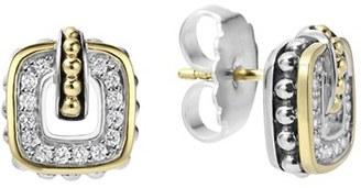 Women's Lagos 'Cushion' Stud Earrings $995 thestylecure.com