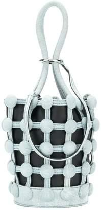 Alexander Wang Roxy Denim Cage Mini bucket bag